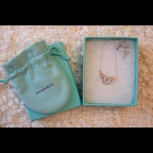 Tiffany & Co necklace butterfly